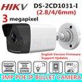 2017 HiKvis Новый Выпущенный 3.0 МП CMOS Сетевая Камера Пули DS-2CD1031-I заменить DS-2CD2035-I 30 м ИК CCTV Камеры DWDR IP67