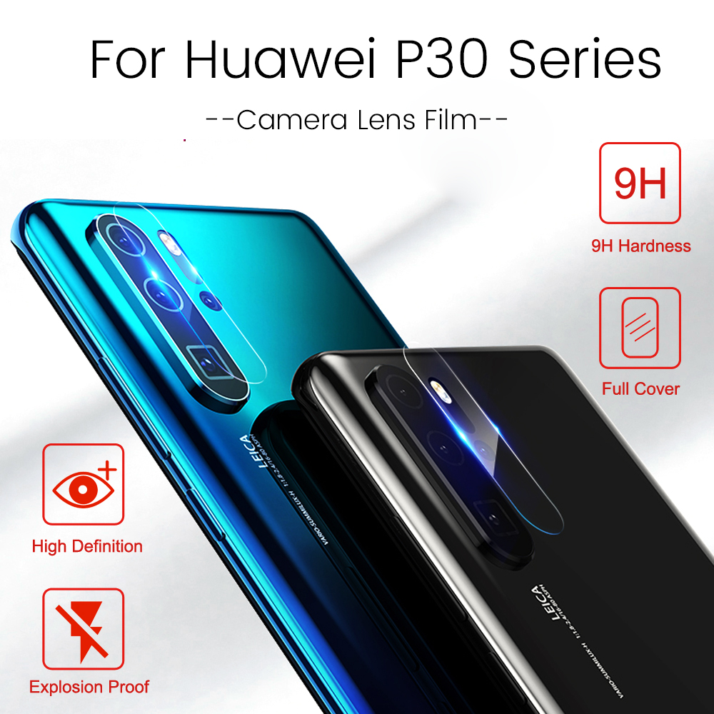 Image 3 - 2 in 1 Camera Lens Protector for Huawei P30 Pro Tempered Glass Screen Protector for Huawei P 30 Pro Lite Light P30Pro P30Lite-in Phone Screen Protectors from Cellphones & Telecommunications