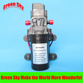 5.5L/Min 24V DC 80W high pressure self priming sprayer pump electric diaphragm pump 5 5l min 24v dc 80w high pressure self priming sprayer pump electric diaphragm pump