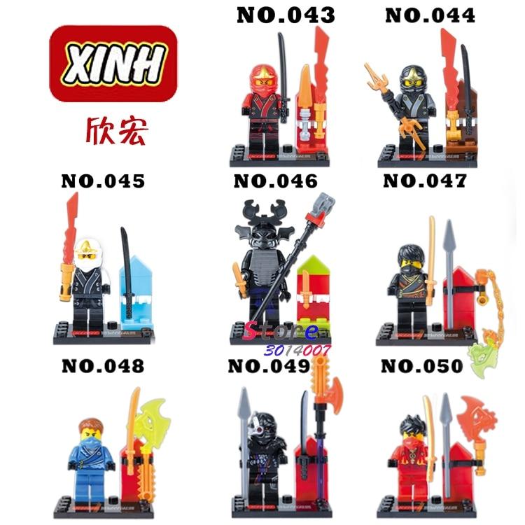 80pcs starwars SUPER HERO Ninja Cole Jay Kai building blocks action figure bricks friends for boy house games kids children toy