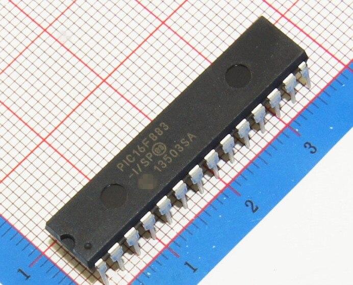 50 PCS LOT PIC16F883 I SP PIC16F883 I PIC16F883 DIP28 NEW