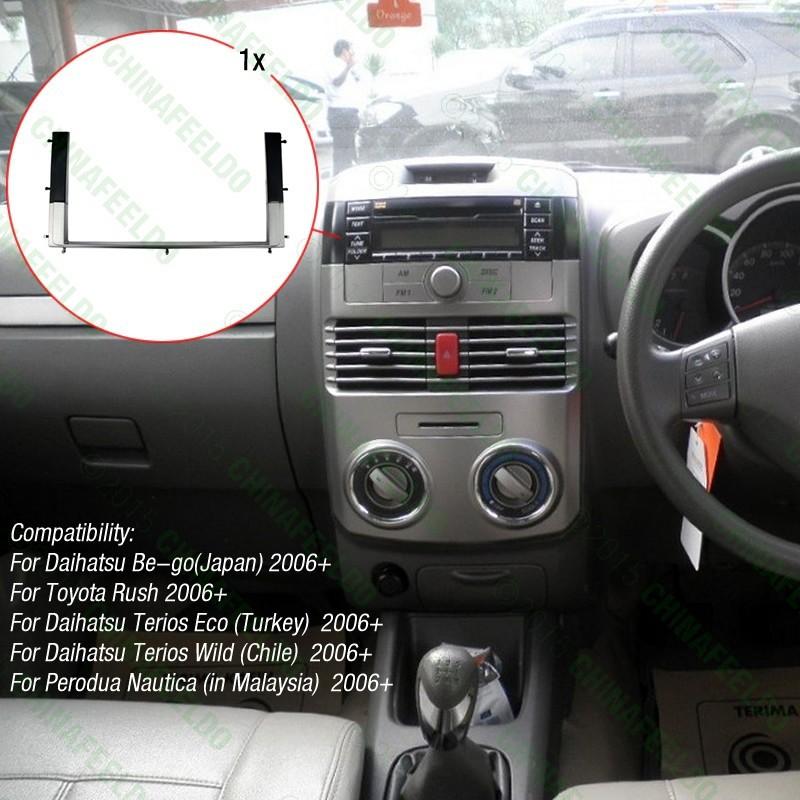 US $13.03 21% OFF|Car 2DIN Reing Radio Stereo DVD Frame Fascia Dash on