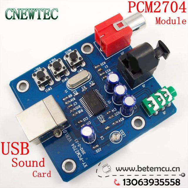 1PCS PCM2704 USB DAC USB Power fiber optic coaxial analog output sz-11 Raspberry Pi Raspbian RaspBMC