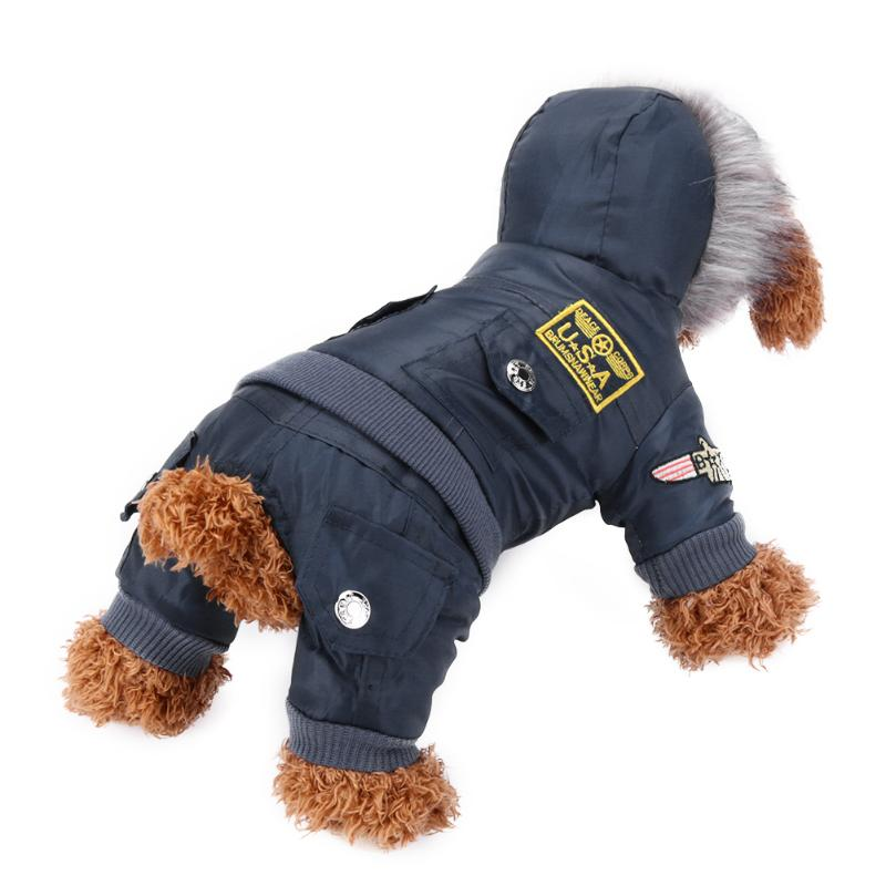 Costume Pet Clothes Dog Pet Winter Coat Jacket Warm Thicken Dog Puppy Hooded Clothes for Chihuahua Small Large Dogs S-XL