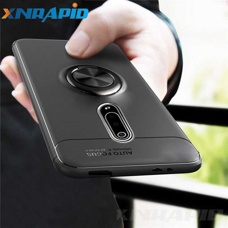 Luxury Armor Case for  Xiaomi Mi 9T Case Magnetic Ring Holder Silicone Cover for Xiaomi Mi 9T Mi9T Pro Cases Fundas