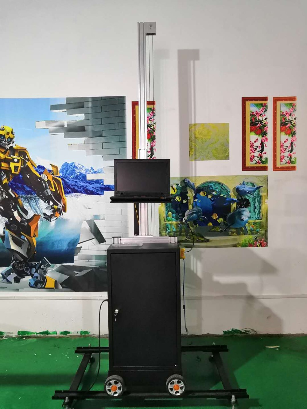 Hot Sale 3d Cmyk Vertical Wall Printer Direct To Wall Painting