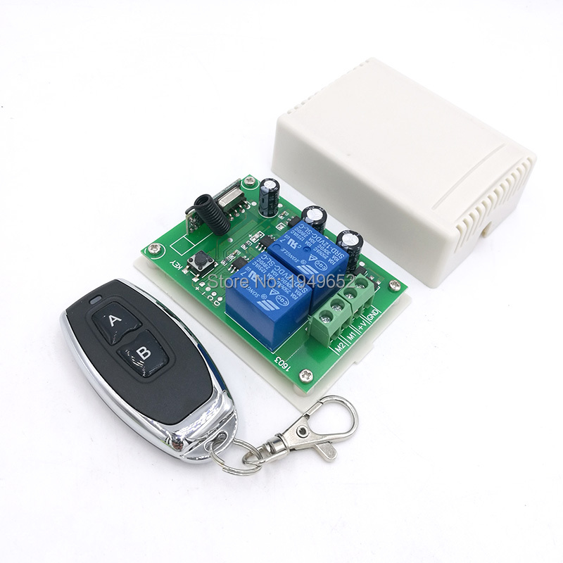 KR1202 433Mhz universal relay receiver module Wireless Remote RF Control Switch Transmitter 12V