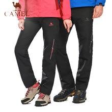 27c02a4854 CAMEL Nylon Breathable Waterproof Windproof Hiking Pants Women Men Quick  Dry Trousers Outdoor Trekking Climbing Pants