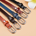 New 2016 the first layer of leather fine ladies belts leather leisure pin buckle belt belt