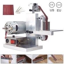 Newest DIY Mini Belt Sander Cutter Apex Edge Sharpener Polishing/Grinding Machine Tool