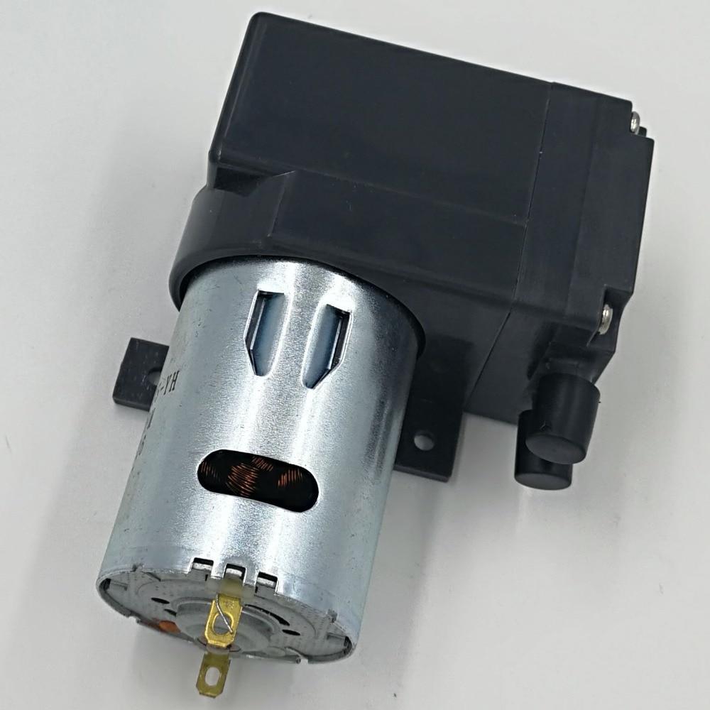 10L/M dc electric diaphragm brush mini dc plastic air pump