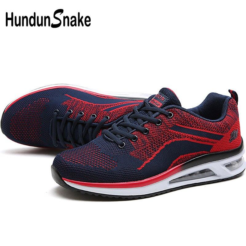 Hundunsnake Air Mesh Men Running Shoes Sports Sneakers Male Adult Men Shoes Sport Chaussure Homme Buty Meskie Walk Krasovki G-4