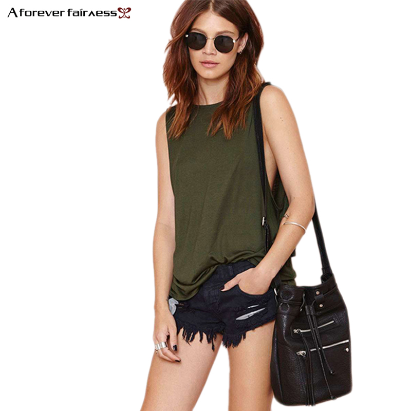 Stock Clearing Free Shipping Women's   Tops   O-Sleeveless Cotton Back Cross Backless Loose Casual Sexy   Tank     Tops   Vest Summer 489