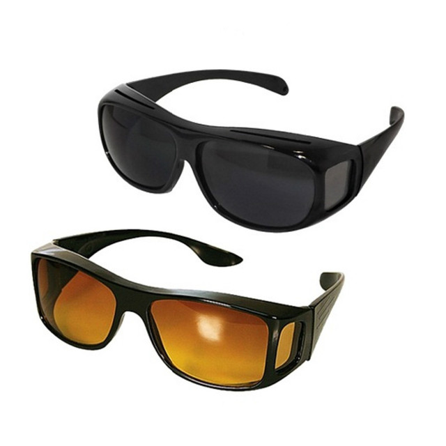 f92150bd11d1 5Pcs/Lot As Seen On TV HD Night Vision Wrap Arounds Sunglasses Driving  Yellow Lens And Dropshipping Reseller For Shopify