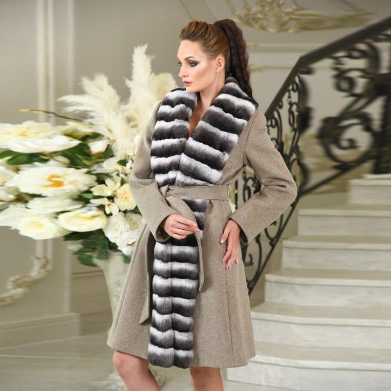 Picture Pour Rex D'hiver Femmes Fourrure Laine Cachemire Les De Chinchilla Plafonné Mode En Manteaux Manteau As Vestes Creative Promotion Gros Lapin vw8qqTRx