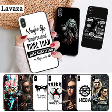 Lavaza Heda Lexa The 100 TV Show Coque Silicone Case for iPhone 5 5S 6 6S Plus 7 8 11 Pro X XS Max XR