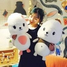 WYZHY Новая креативная милая мягкая Маленькая мужская игрушечная овечка плюшевая игрушка для дивана украшения спальни отправьте друзьям подарки для детей 50 см