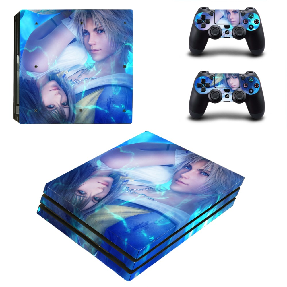 PS4 Pro Skin Sticker Cover For Sony Playstation 4 Pro Console&Controllers - Final Fantasy XV