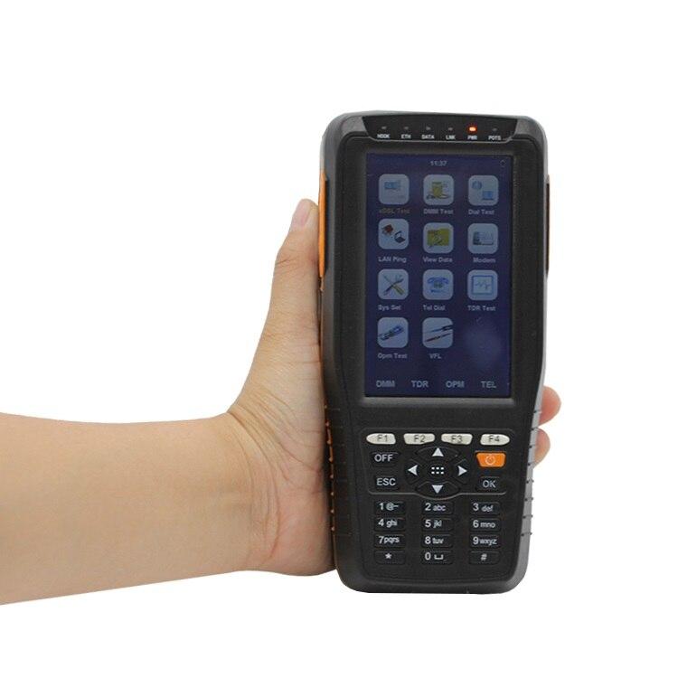 Nouvelle Arrivée TM-600 VDSL VDSL2 ADSL WAN LAN Testeur xDSL Équipement De Ligne DSL Physique