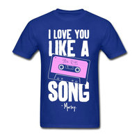 Summer Crewneck Men S I Love You Like A 90S R B Song Top Tee Cheap