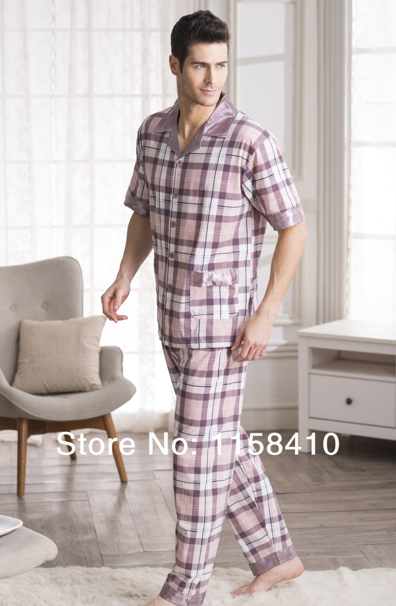 Aliexpress.com : Buy 2015 new style Summer Pajamas set For Men ...