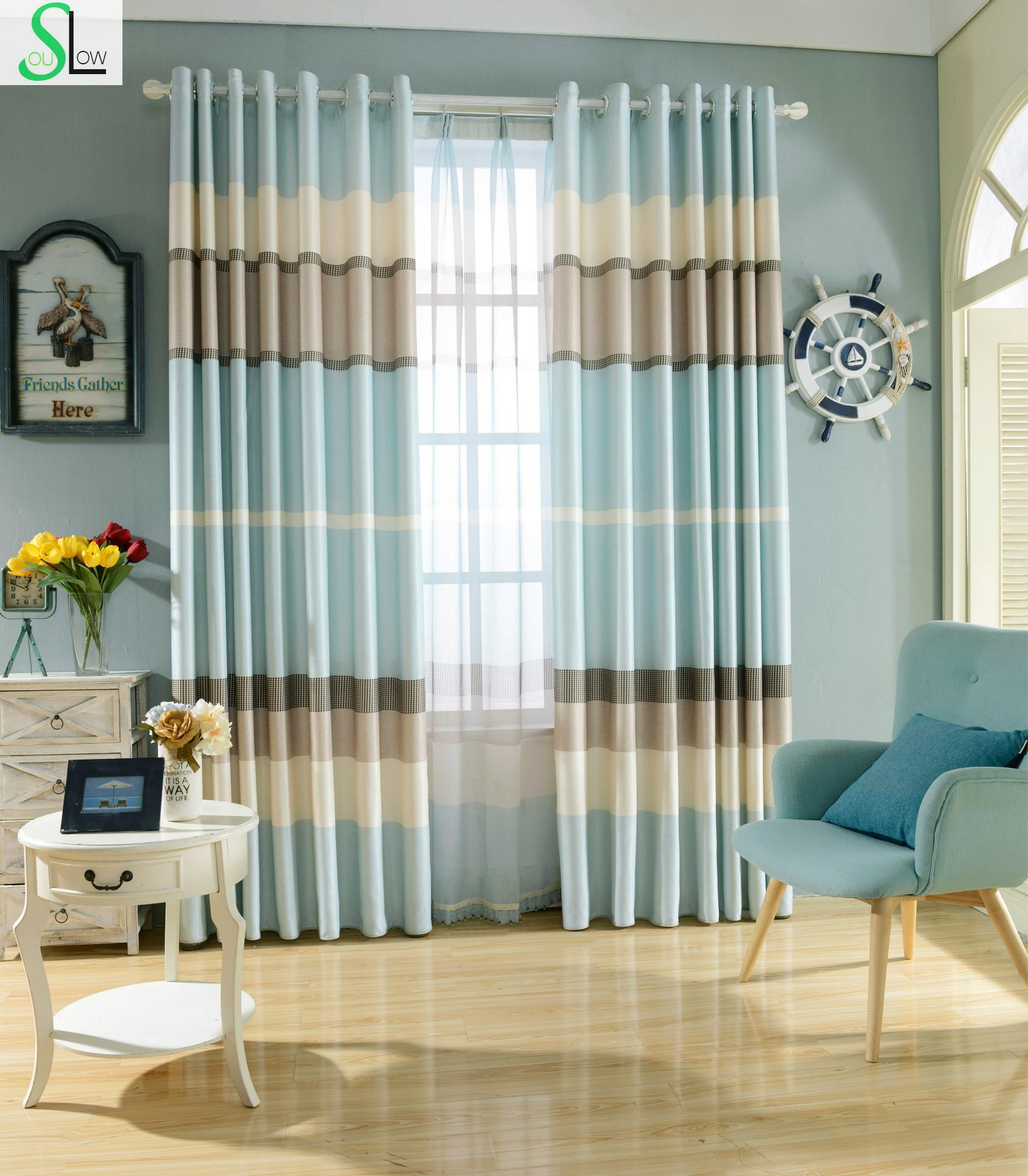 Huayin Velvet Linen Curtains Tulle Window Curtain For: Slow Soul New Simple Velvet And Linen Cloth Shade Curtain