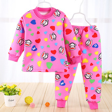 Baby Girl Real Down & Parkas Woolen Baby Set 2016 New Male And Female Thick Cotton Underwear Sets Newborn / Warm Suit Clothing