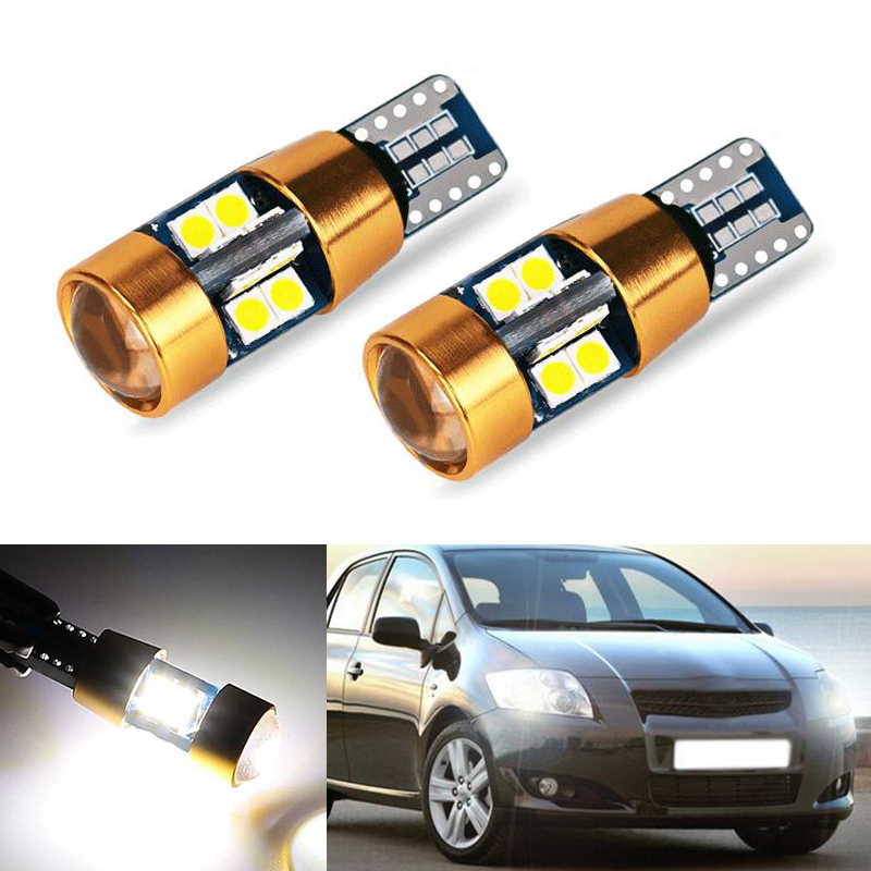 2x T10 LED W5W Car Clearance Light For <font><b>Toyota</b></font> Corolla Avensis Yaris <font><b>Rav4</b></font> Auris Hilux Prius Camry 40 Celica Supra Prado Verso image