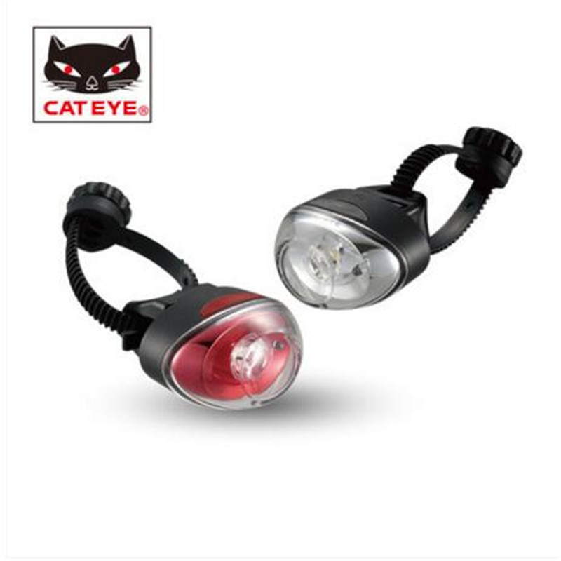 CATEYE TL-LD611 USB rechargeable bicycle rear light warning lights mountain bike riding accessories equipment bicycle light headligh glare t rechargeable led 10w mountain bike bicycle riding equipment accessories