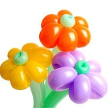 NEW Colors 10pcs 26cm Spiral Magic Balloons Long Balloon Modelling Latex Balloons Clown Toys Birthday Wedding Party Decoration