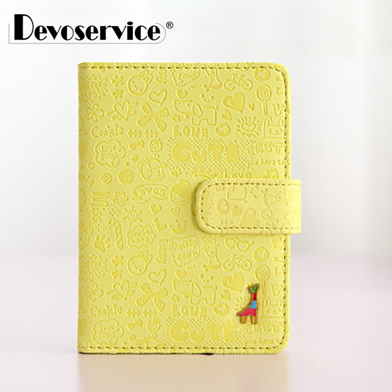 Mini Cute Cartoon Giraffe Shape Pu Leather Notebook Colored Page Journey Diary Planner Notepad Stationery Office School Supplies color page diary notebook a5 simple top quality thicken notebooks school supplies stationery fine travel plan notepad gift page 5
