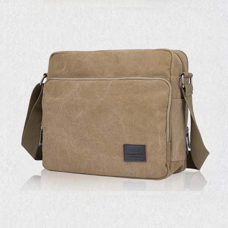 Nya 2018 multifunktionella män Crossbody Messenger Bags Canvas - Väskor för bagage och resor - Foto 3