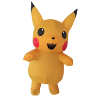 New Sale Pikachu Inflatable Costume Halloween Christmas Party Funny Inflatable Costume For Adult Party Activities Props