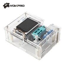 ESR Đo GM328A Transistor Kiểm Tra Màn Hình LCD, Điện Dung, Diode ESR Điện Áp Tần Số Đồng Hồ Đo PWM Sóng Vuông Máy Phát Tín Hiệu