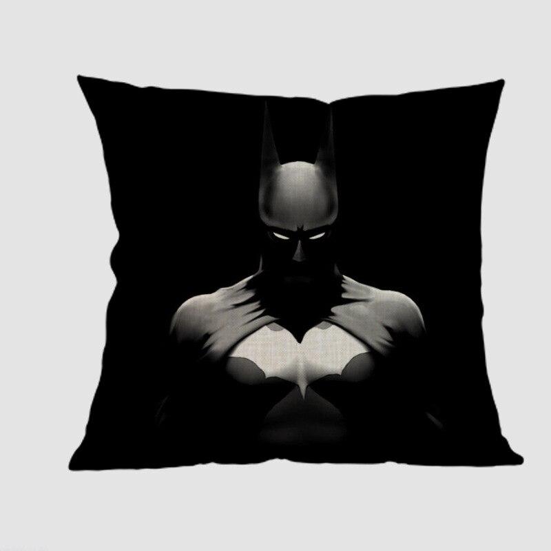 Super hero The Dark Knight batman joker Cushion Cover black Pillow Case home coffee shop club car decoration sofa gift for kids