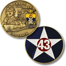 low price Custom coin  hot sales U.S. Navy Bronze Challenge Coin High quality metal coins FH810191