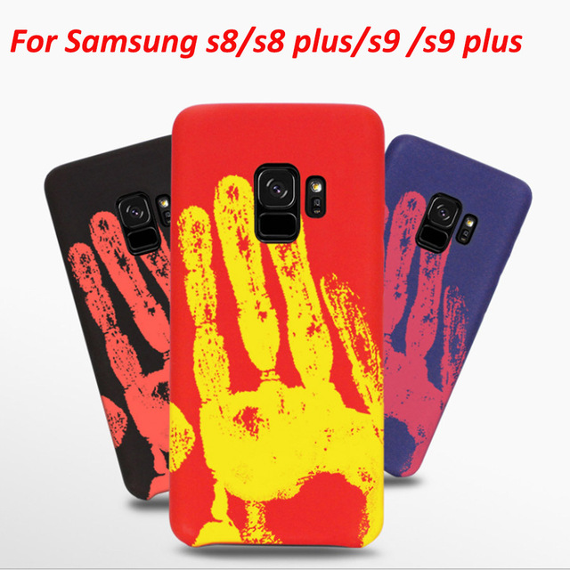 new concept 366ff 7f366 US $3.62 25% OFF|Thermal Sensor Discoloration Case For Samsung s9 galaxy s8  s9 plus s7 s7 edge note 8 Soft Heat Sensitive Cover Magic Phone Cases-in ...