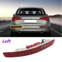 Rear Left Side Brake Parking Warning Fog Tail Light Lamp Bumper Cover For Audi Q5 2