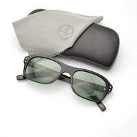Kingsman Vintage Designer Secret Service Sunglasses Women Polarized UV400 Lens Acetate Frame Eyewear For Men Outdoors Glasses