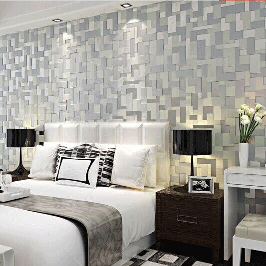 Papel de parede para sala de tv cinza for Papel para paredes salon