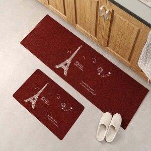 Image 2 - Antypoślizgowa długa mata kuchenna zestaw zmywalny dywanik do sypialni nowoczesna wycieraczka wejściowa dywany do salonu i dywaniki Tapis