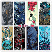 Leopard And Skull Cross Stitch DIY Diamond Painting 5D Wall Decor Animals