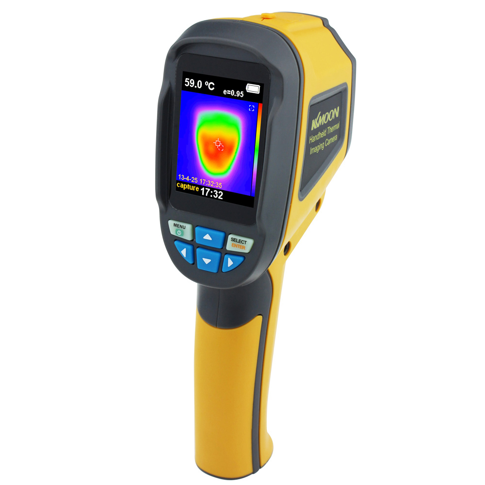 Thermomètre portatif professionnel caméra d'imagerie thermique thermomètre infrarouge Portable IR imageur thermique dispositif d'imagerie infrarouge