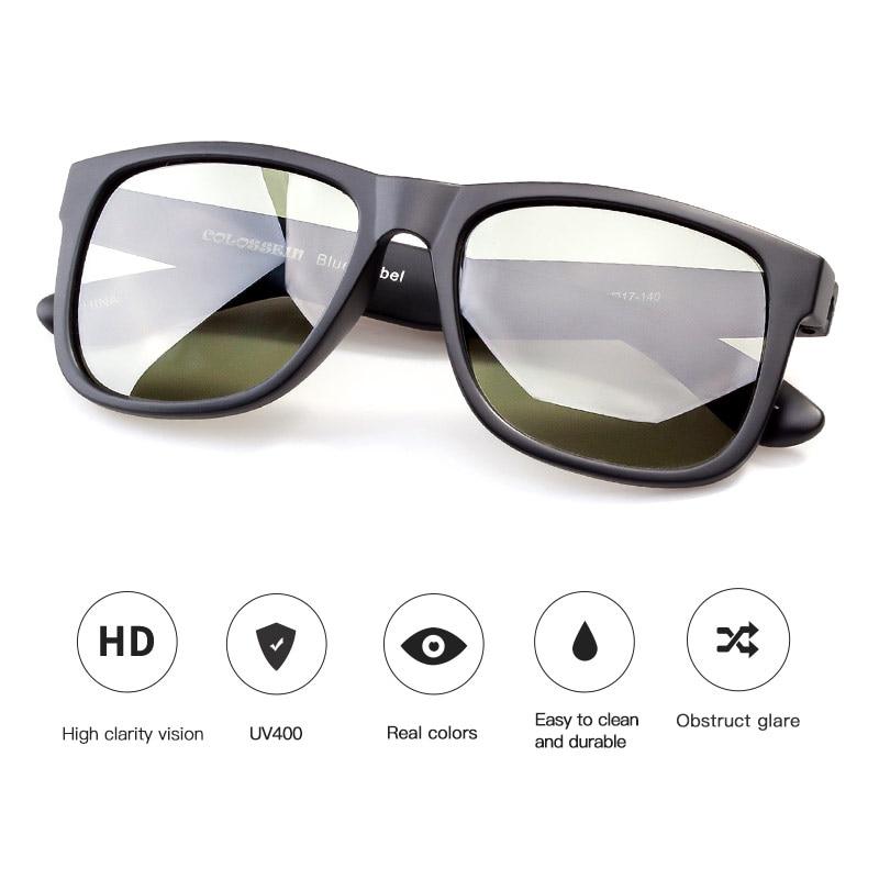 COLOSSEIN Klasik Sunglasses Wanita Terpolarisasi Kacamata Matahari - Aksesori pakaian - Foto 4