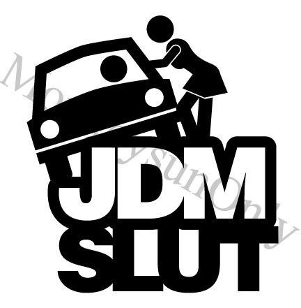 Xgs Decal Car Jdm Sl T Motocicleta Coche Pegatinas Reflectantes