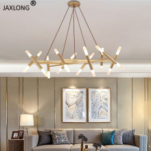 Modern LED Lighting Restaurant Lustre Acrylic Decor Pendant Lamp Nordic Style Home Living Room Bedroom Gorgeous Pendant Lights