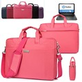Waterproof Ladies Laptop Shoulder Bag Carry Case Briefcase for HP 14'' Chromebook/ SlateBook/ ENVY/ Pavilion/ Sleekbook/ZBook 14