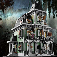 2141Pcs Monster Fighter The Haunted House Model Set Building Kits Model Compatible With 10228 For Boys