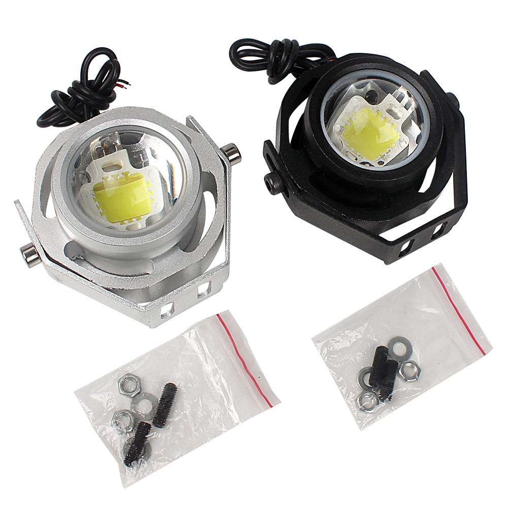 10W IP65 Waterproof LED Car Eagle Eye Lights 12V-32V Car Fog Daytime Reverse Backup Parking Signal Lights Lamps