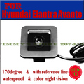 Para a sony ccd visão hd noite para 2012 hyundai elantra avante car rear view camera reversa backup estacionamento assistência